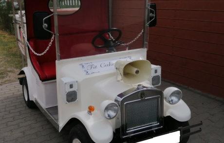 Fagylaltos kocsi bérlés